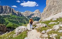 Dolomiti - hiking in Badia Valley von Antonio Scarpi