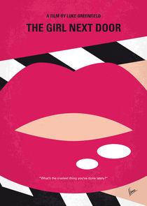 No670 My The Girl Next Door minimal movie poster von chungkong