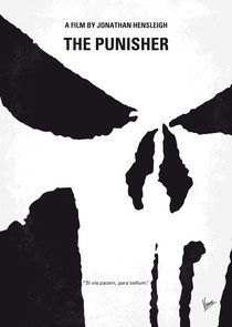 No676 My The Punisher minimal movie poster by chungkong