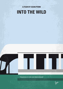 No677 My Into the Wild minimal movie poster by chungkong