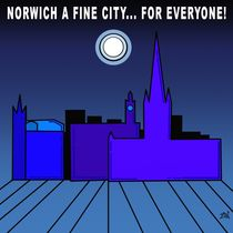 Norwich A Fine City For Everyone  von Vincent J. Newman