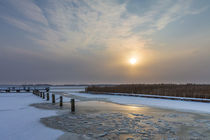 Winter am Bodden bei Wiek by Rico Ködder