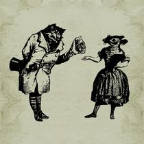 Grandville Cat and Mouse by Barbara St. Jean