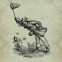 Grandville Butterfly Hunter by Barbara St. Jean