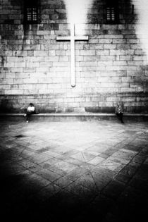 At the cross by Tiago Pinheiro