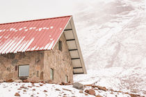 Shelter at Chimborazo Mountain in Ecuador von Daniel Ferreira Leites Ciccarino
