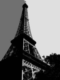 Paris in Grey von Nate Jekich