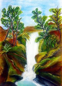 Waterfall by Susanne Nürnberger