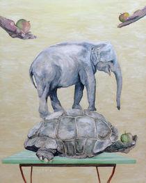 Tiergartenbesuch - Arnold Beck by Fine Art Nielsen