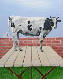 Vegetarische Kuh - Arnold Beck von Fine Art Nielsen