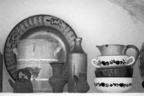Pottery still life by Gaspar Avila