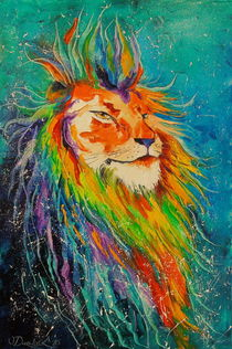 The lion king by Olha Darchuk