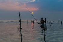 Stelzenfischer bei Koggala | Sri Lanka von Thomas Keller