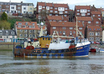 Fishing Trawler, Whitby von Rod Johnson
