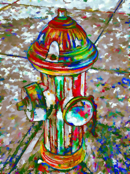 Colourful-hydrant