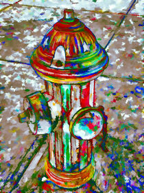 Colourful hydrant by lanjee chee