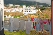 Laundry day in Azores by Gaspar Avila