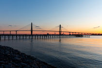 Mount Pleasant Brücke, South Carolina, USA by geoland