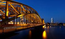 Hohenzollernbrücke, Köln, Deutschland by geoland