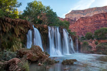 Upper Navajo Falls, Supai, Grand Canyon, Arizona, USA von geoland