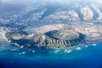 Luftaufnahme Diamond Head, O'ahu, Hawaii, USA von geoland