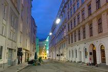 Seilerstätte bei Nacht, Wien von geoland