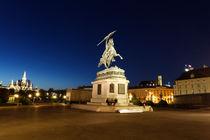Reiterstandbild an der Hofburg von geoland