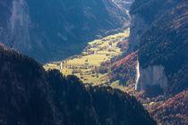 Staubbachfälle Lauterbrunnen von geoland