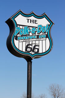 Polk-a-dot Route 66 by geoland