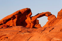 Arch Rock, Valley of Fire by geoland