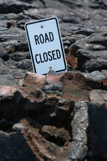 End of Chain of Craters Road, Kilauea, Hawai'i by geoland