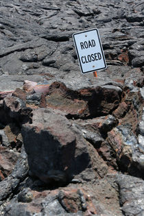End of Chain of Craters Road, Kilauea, Hawai'i von geoland