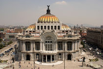 Palacio de Bellas Artes Mexico City von John Mitchell