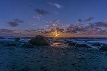 Ein Abend an der Nordsee by Rahel Herden