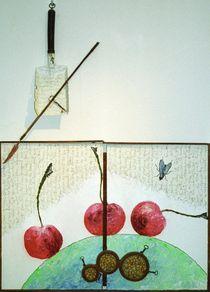 Kirschen essen von Fine Art Nielsen