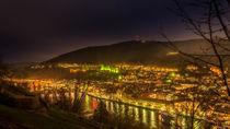 Heidelberg in Grün von Thorsten Fritz