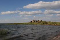 rocks on the shore of the lake by Natalia Akimova