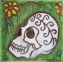 Tribal Skull von Laura Barbosa