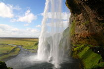 Island Seljalandsfoss Wasserfall von kuestenkunst