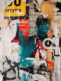 Russian poster wall / No. 1 von rgbilder