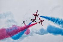 Red Arrows by James Biggadike