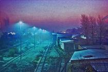 Westhafen im Farbenrausch von Bettina Piwon
