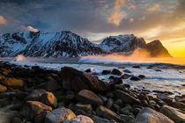 Unstad, Lofoten von Mikolaj Gospodarek