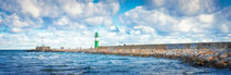 Green lighthouse by Ingo Menhard