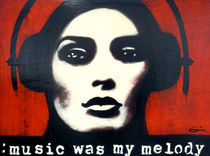Music Was My Melody - Espen Eiborg von Fine Art Nielsen