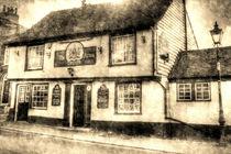 The Coopers Arms Pub Rochester Vintage von David Pyatt