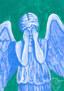 weinender engel I von herz +  hirn
