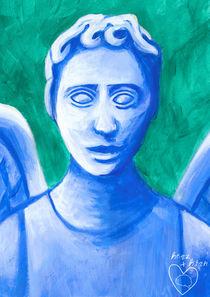 weinender engel II by herz +  hirn