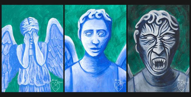 Weinende-engel-collage