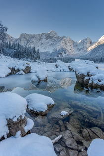 Winter reflections by Bor Rojnik